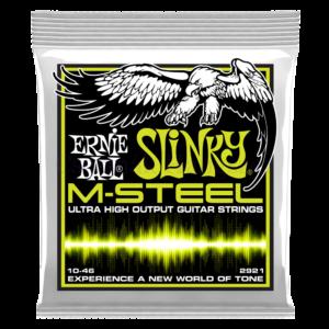 Elektromos gitárhúr Ernie Ball M-steel regular slinky 10 - 46