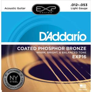 Akusztikuss gitár húrkészlet D'Addario 12-53