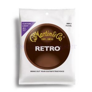 Akusztikus gitárhúrkészlet Martin Retro 11-52