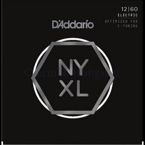Elektromos gitárhúrkészlet D'Addario NYXL 12-60