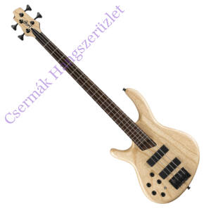 Cort el.basszusgitár, Markbass Preamp, balkezes, natúr