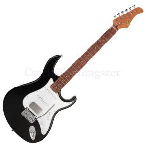 Cort elektromos gitár, fekete