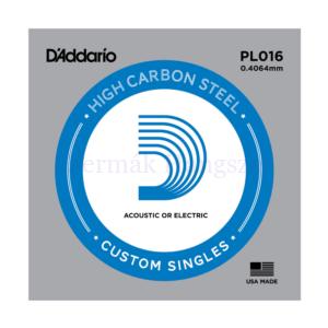 Elektromos gitárhúr D'Addario PL016