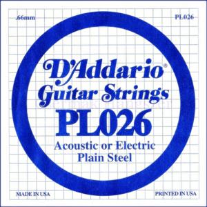 Elektromos gitárhúr D'Addario  PL026